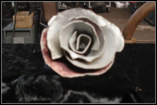 Custom Made Steel Rose Bloom