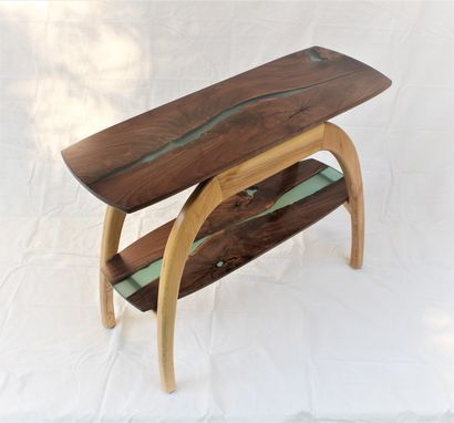 Custom Made River Table / Side Table / Hall Table