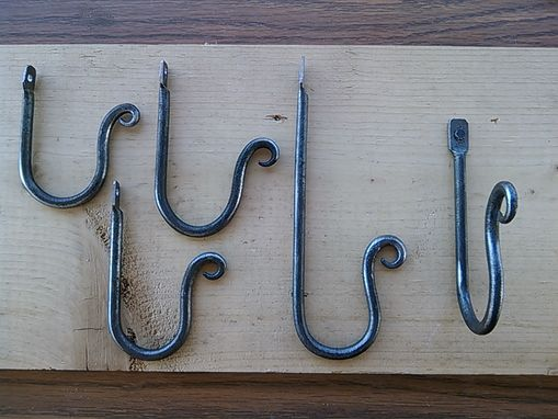 Custom Made Simple Wall Hooks