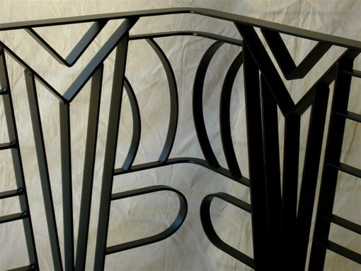 Custom Art Deco Railing By Disilvestro Steelworks