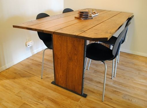 Custom Made Butternut Dining Table