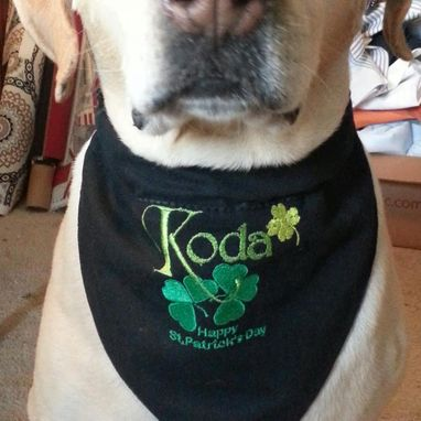Custom Made Bandana For Your Pet