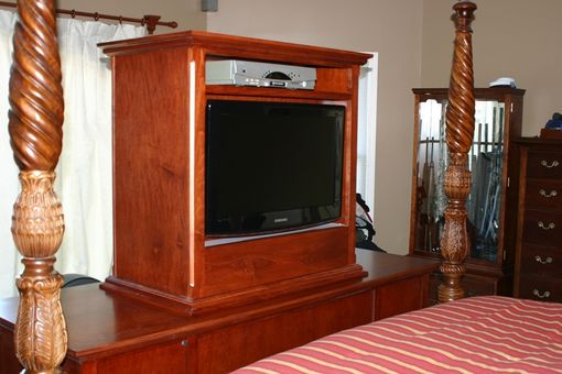 Custom Made Tv Lift/Jewelery Cabinet
