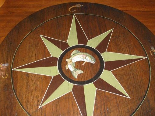 Custom Made Lazy Susan For Dining Table