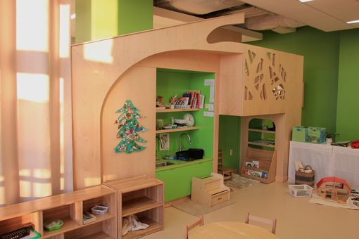 Custom Made Multi Purpose Childrens Play Cabinetry