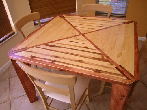 Custom Made Modern Rustic Wood Table