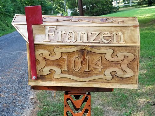 Custom Made Custom Made Large Wooden Mailbox