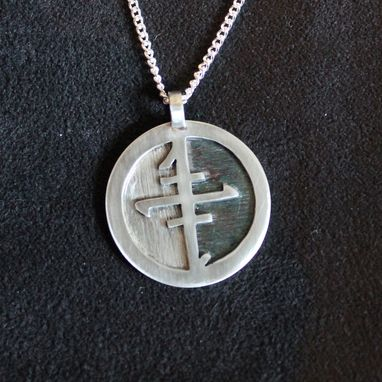 Custom Made Pendant With Custom Symbol
