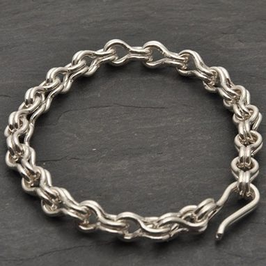 Custom Made Large Size Sailors Chain Bracelet
