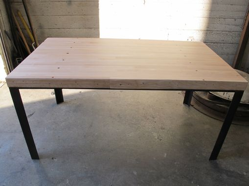 Custom Made Bowling Lane Table