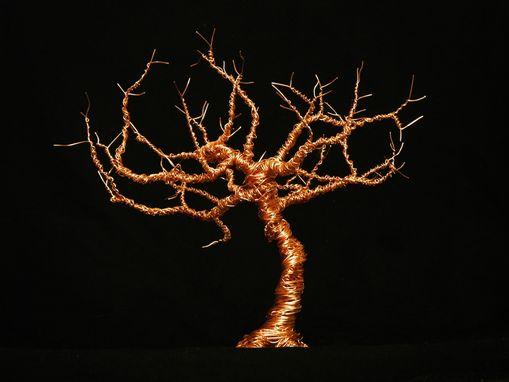 Custom Made Wire Traditional Tree