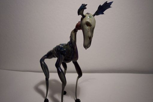 Custom Made Dali Glass Moose