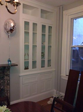 Custom Made Display Cabinet With Inset Doors
