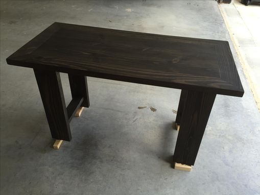 Custom Made Workbench Inspired Desk