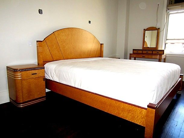 Handmade Art Deco Bedroom Set by Joel Liebman Furniture ...