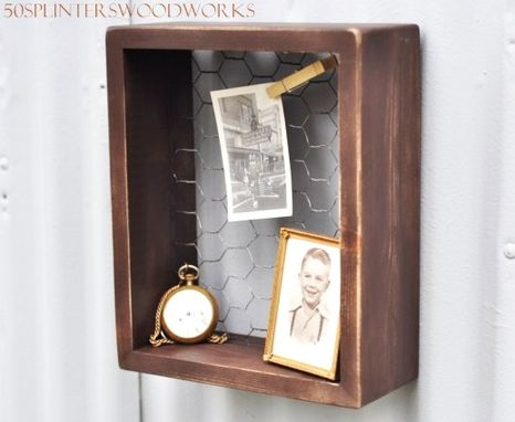 Custom Made Rustic Shadow Box