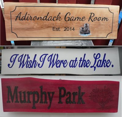 Custom Made Custom House Plaques & Signs On Wood,  Hand Painted Sign, Custom Sign, Family Name Sign, Logo,