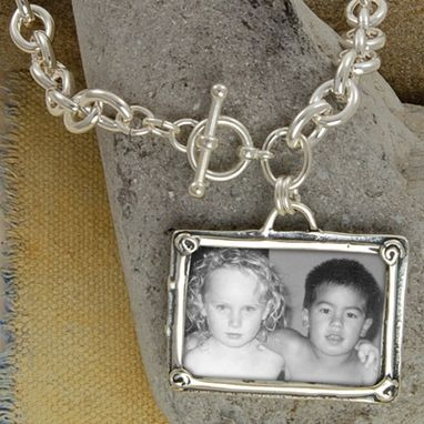 Custom Made Portrait Of Love Necklace