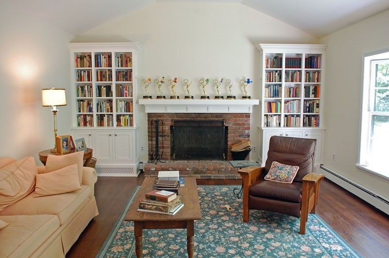 Handmade Shaker Style Living Room Bookcases by John Samuel Custom ...