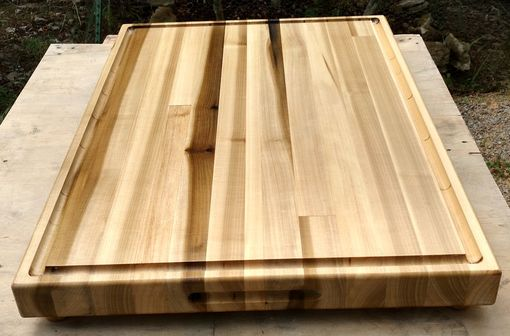 Custom Made Large Cutting Board