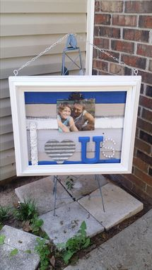 Custom Made Very Large Clip Picture Frame
