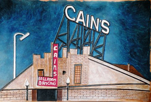 Custom Made Cain's Ballroom In Tulsa, Oklahoma