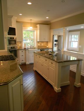 Custom Made White Painted Kitchen