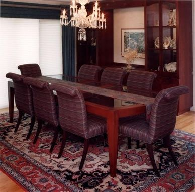 Custom Made Mahogany Dining Room