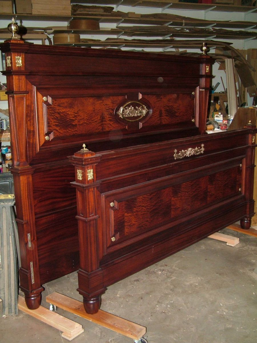 Custom French Empire Mahogany Bed By Joel Shepard Furniture Custommade Com