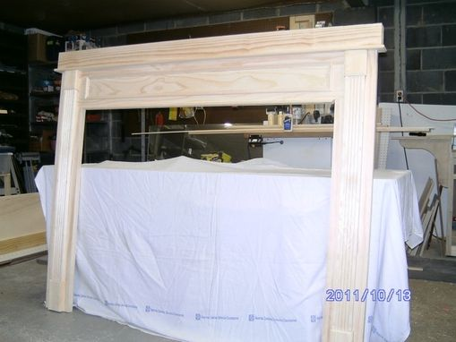 Custom Made Custom Mantels And Fireplace Surrounds