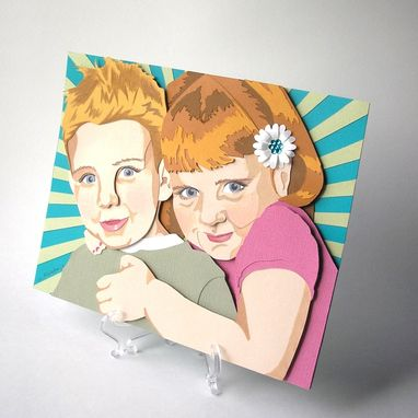 Custom Made Paper Portraits