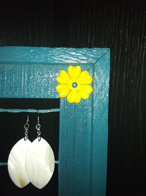 Custom Made Picture Frame Earring Holder