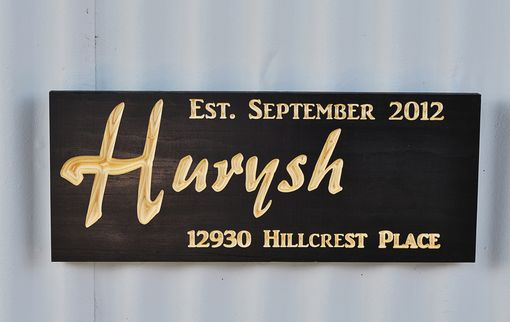 Custom Made Family Signs