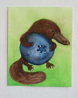 Custom Made Humorous Critter Painting