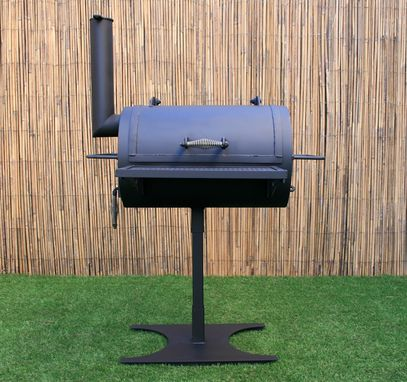Custom Made Bbq Grill - Heavy Duty Tailgate Pit - Texas Bbq - Small Barbecue Grill - Handmade Pit