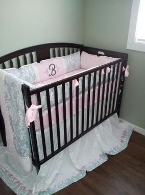 Custom Made Dreamy Baby Girl Crib Set