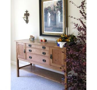 Custom Made Mission Sideboard