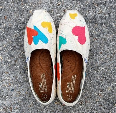 Custom Made Custom Toms Shoes
