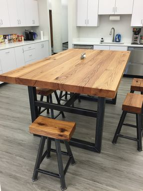 Custom Made Kitchen Table W/Stools