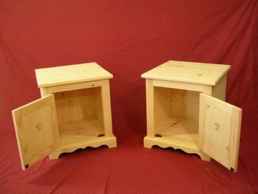 Custom Made Pine End Tables