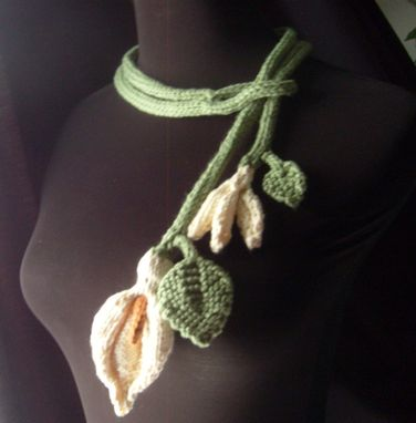 Custom Made The Lilly Ii - Spring/Summer Lariat - All Cotton Handmade Weddings