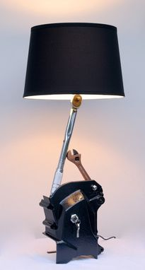 Custom Made Torque Wrench Lamp