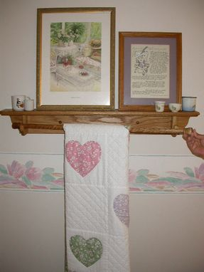 Custom Made Quilt Racks