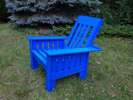 Custom Made Outdoor Morris Style Chair