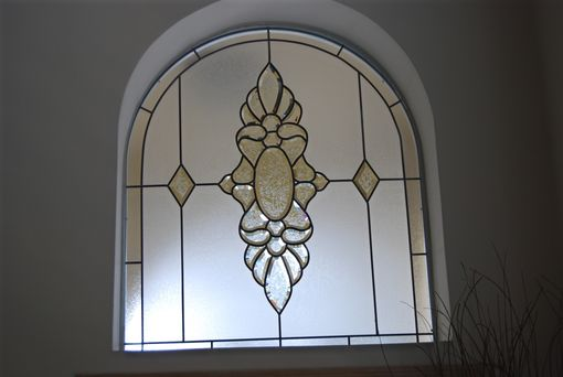 Custom Made Arched Window Panel 08-27
