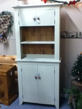 Custom Made Country Grey Cabinet With T&G Wide Boards