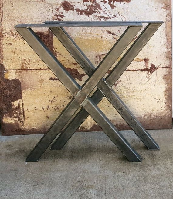 Buy Custom Metal Table Legs Made To Order From Steel Impression - How to make metal table legs