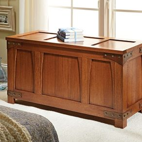 Craftsman Style Blanket Chest By Edward Pask