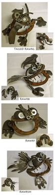 Custom Made Recycled Tool Animals