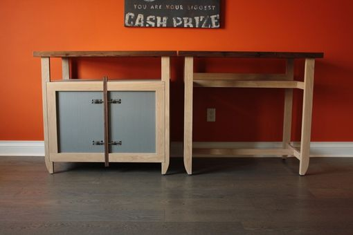 Custom Made Sideboard And Table